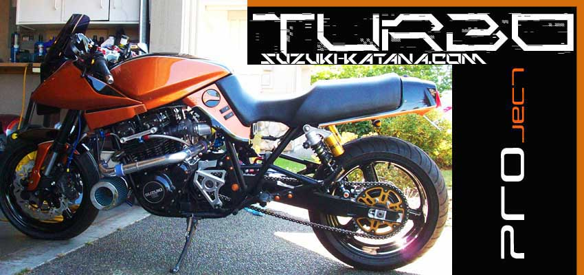 Katana Frame and Suspension